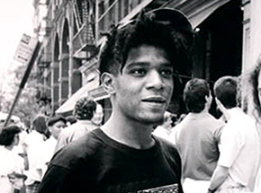 Art Print by The Heliotrope Foundation - Ricky Powell - Basquiat