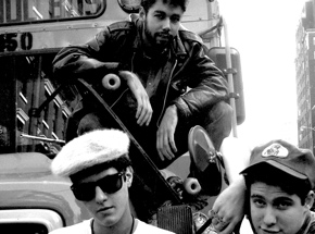 Art Print by Ricky Powell - From My 1st Official Beastie Boys Shoot May 1986