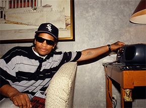 Art Print by Ricky Powell - Tune In Compton - Eazy E - Hilton Hotel - 1993 - II