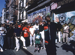 Art Print by Ricky Powell - Book + KRS One. You Must Learn Video. NYC. 1988. - Limited Edition Print