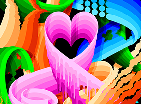 Art Print by Ricky Watts - Love Wins