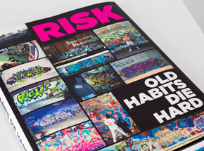 Art by Risk - Old Habits Die Hard - Signed Monograph