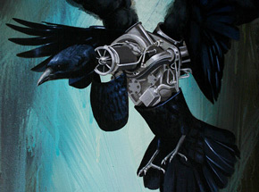 Original Art by Robert Bowen - Blackbird - Original Artwork