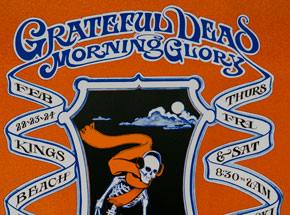 Art by Robert Fried - Grateful Dead, Morning Glory