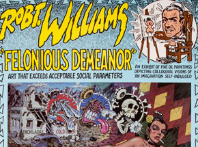 Art by Robert Williams - Felonious Demeanor