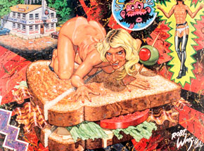 Art by Robert Williams - Jezebel On A BLT