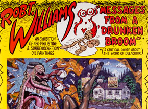 Art by Robert Williams -  Messages From A Drunken Broom
