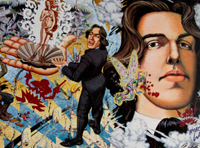 Art by Robert Williams - Oscar Wilde in Leadville, L Imagerie