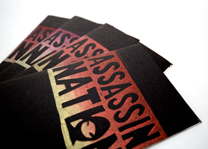 Book by Ron Zakrin - Assassin Nation Zine