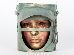 Original Art by Ron Zakrin - Bucket Head #9