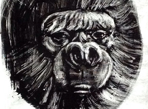 Original Art by Ron Zakrin - Virunga