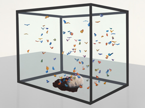 Art Print by Ryan McCann - Death To Damien Hirst
