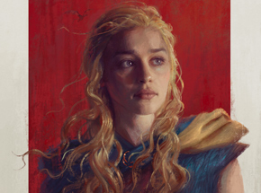 Art by Sam Spratt - Daenerys - Framed