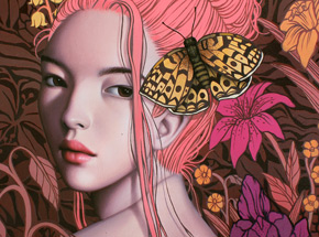 Art Print by Sarah Joncas - Blossom - Limited Edition Prints - Framed