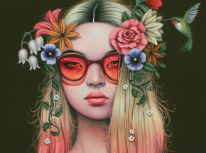 Art Print by Sarah Joncas - Summer