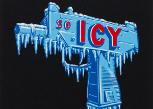 Art Print by Scott Hove - So Icy - Black Edition