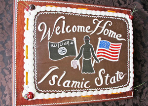 Original Art by Scott Hove - Welcome Home Islamic State