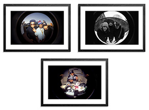 Art Print by Ricky Powell - 3-Print Set - Centrifugal Champipple Bubble Editions