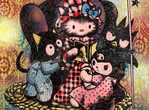 Original Art by Shark Toof - Sanrio Stories - Original Painting