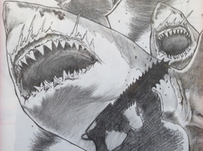 Original Art by Shark Toof - Sharknado