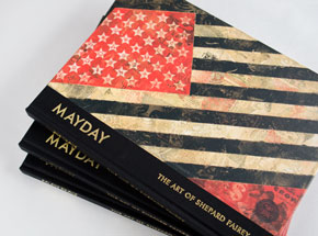 Book by Shepard Fairey - Mayday: The Art of Shepard Fairey