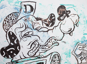 Original Art by Sheryo & The Yok - Detroit Dingo