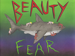 Original Art by Skinner - Beauty & Fear