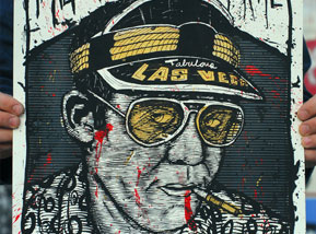 Art Print by Zeb Love - Hunter S Thompson