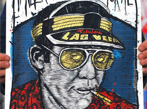 Art Print by Zeb Love - Hunter S Thompson variant