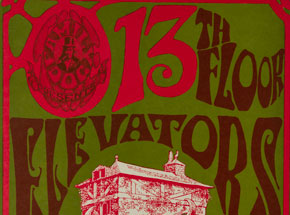 Art by Stanley Mouse - 13th Floor Elevators, Sir Douglas Quintet