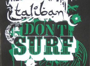 Art by JRF - Taliban Don't Surf