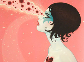 Art Print by The Heliotrope Foundation - Tara McPherson - Magnetic Destroyer