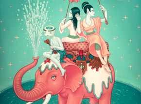 Art Print by Tara McPherson - Safety Of Water