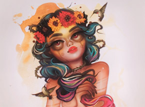Art Print by Tatiana Suarez - Arabi