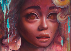 Art Print by Tatiana Suarez - This Is Fine - Framed
