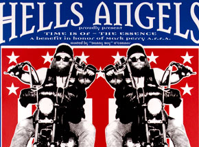 Art by Jim Evans / Taz - Hells Angels - House of Pain
