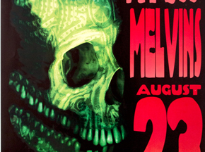 Art by Kozik - Kyuss and The Melvins - August 23rd, 1995 at The Loft