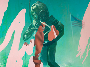 Art Print by Telmo Miel - The Sea Refuses No River