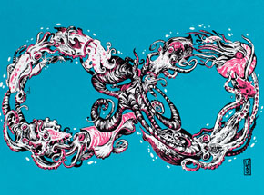 Art by Lauren YS - - Mobius - Variant Editions -