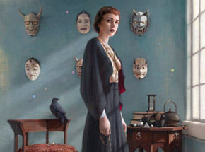 Art Print by Tom Bagshaw - Better Angels