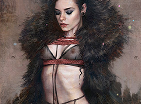 Art Print by Tom Bagshaw - Ensnared