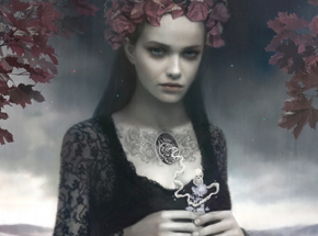 Art Print by Tom Bagshaw - Falls Grace - Framed