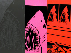 Art Print by Shark Toof - Shark Toof Guilty Pleasures 3-Print Set