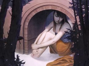 Original Art by Tran Nguyen - Beneath the Curiosty Canal
