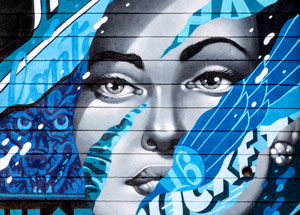 Art by Tristan Eaton - Aloha Dreamland - Framed