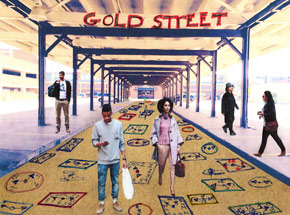 Art Print by Tyree Guyton - Gold Street
