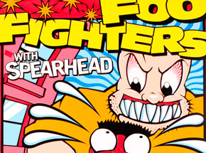 Art by Uncle Charlie - Foo Fighters - September 10, 1995 at Numbers
