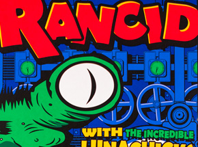 Art by Uncle Charlie - Rancid - Novemember 6th, 1995 at Numbers