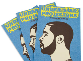 Book by Sugoi Books - Under Star Projectors:  Drake Unofficial Coloring Book