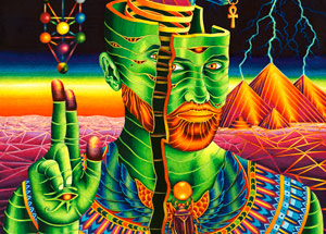 Art Print by Vedran Misic - Anubis Rising